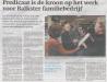 Friesch Dagblad 6 januari 2017
