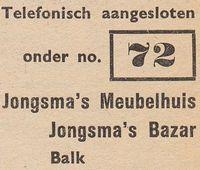 De telefoonummers in 1948 waren eenvoudig te onthouden.
