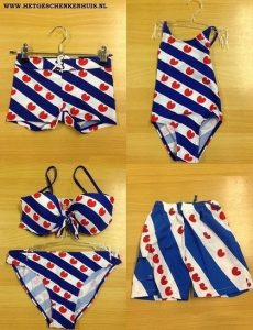 friese zwembroek, friese bikini, friese zwemkleding