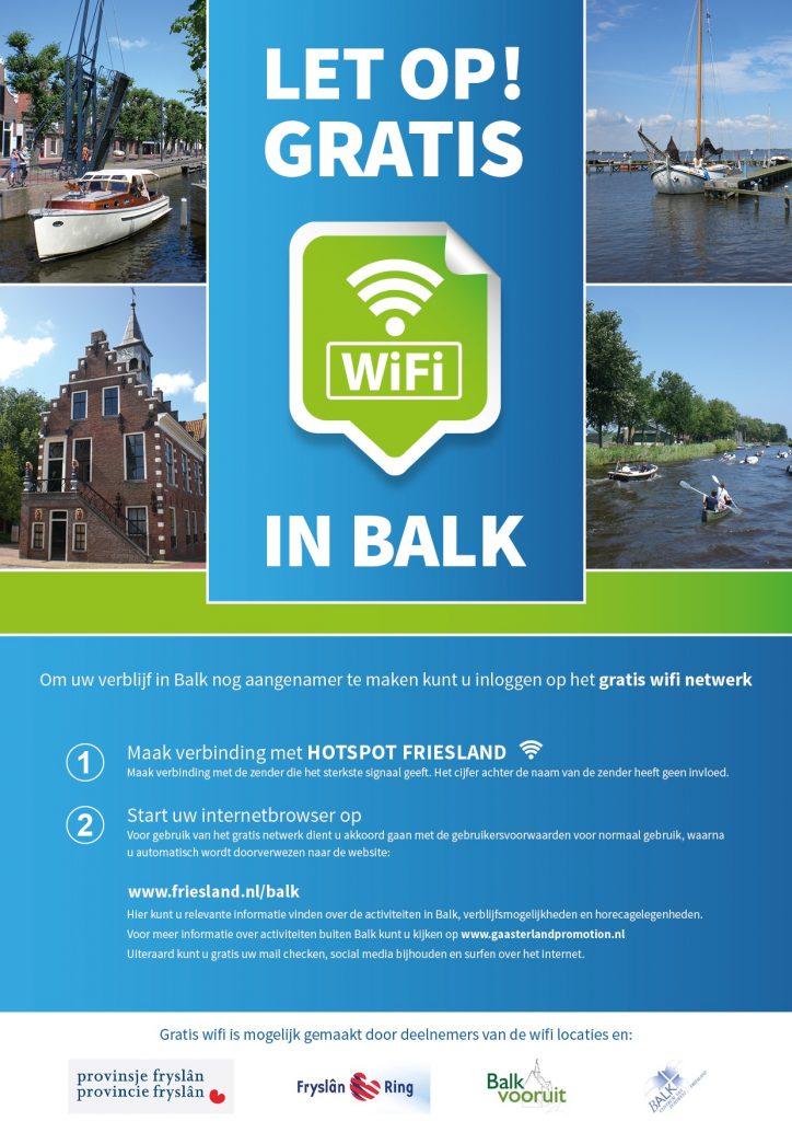 Gratis WiFi Balk 01