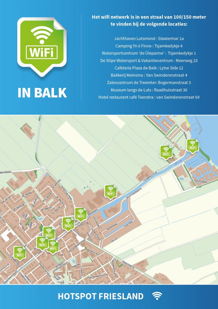 Gratis wifi Balk 02